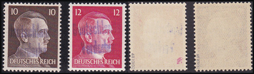 Lot 371 - world wide philately Germany 1938 - 1945, Local 1939-1945 -  Romano House of Stamp sales ltd Auction #41