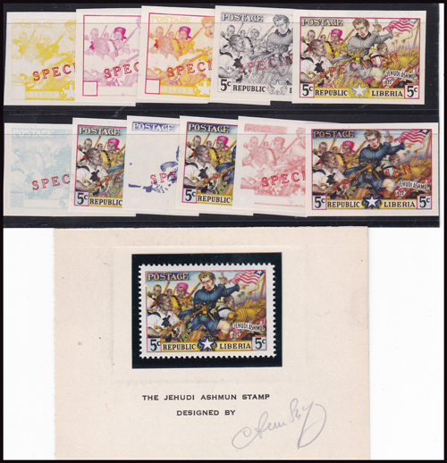 Lot 456 - world wide philately Liberia -  Romano House of Stamp sales ltd Auction #41