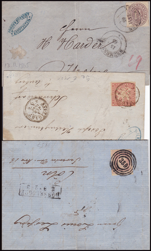 Lot 345 - world wide philately germany early states -  Romano House of Stamp sales ltd Auction #41