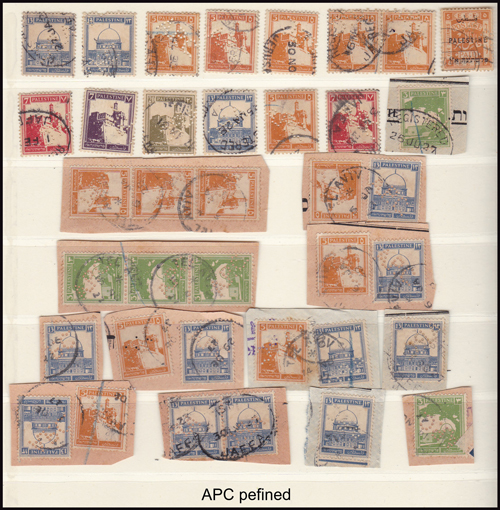 Lot 19 - british mandate in palestine stamps of british mandate in palestine -  Romano House of Stamp sales ltd Auction #41