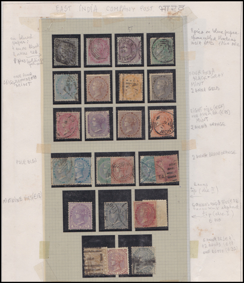 Lot 406 - world wide philately British Empire Commonwealth, India -  Romano House of Stamp sales ltd Auction #41