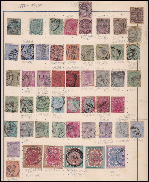 Lot 413 - world wide philately British Empire Commonwealth, India -  Romano House of Stamp sales ltd Auction #41
