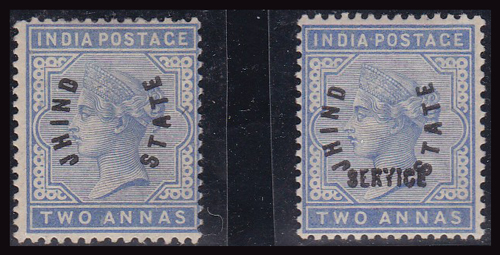 Lot 441 - world wide philately India, India Convention States -  Romano House of Stamp sales ltd Auction #41