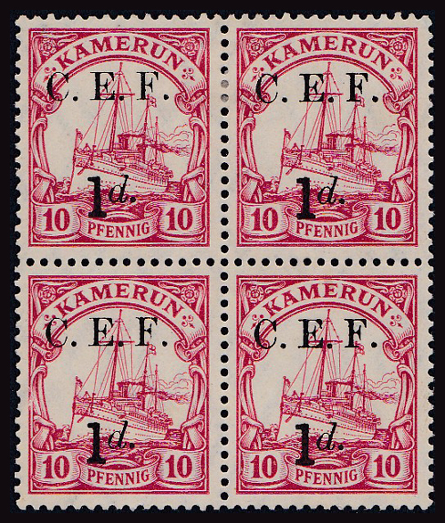 Lot 347 - world wide philately German Colonies, German South West Africa: Cameroon -  Romano House of Stamp sales ltd Auction #41