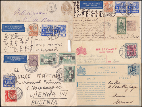 Lot 466 - world wide philately Netherlands, Netherlands Indies -  Romano House of Stamp sales ltd Auction #41